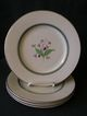 Set of 4 - Syracuse China &quot;Coralbel&quot; Pattern Dinner Plates