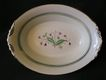 Syracuse China &quot;Coralbel&quot; Pattern Open Oval Vegetable Bowl