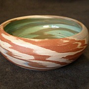 "Desert Sands - Boulder City, Nev - ""Mission Swirl"" Pottery Bowl"