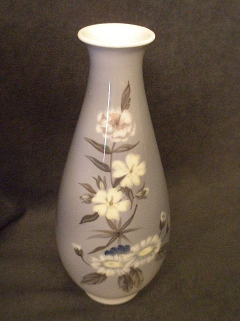 Royal Copenhagen &quot;Danish Florals&quot; Pattern Vase