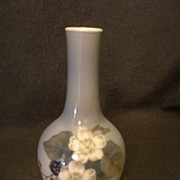 "Royal Copenhagen ""Blackberry Fruit & Flowers"" Pattern Vase"