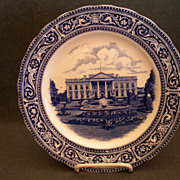 "Royal Doulton ""The White House, Washington D.C"" Commemorative Plate"