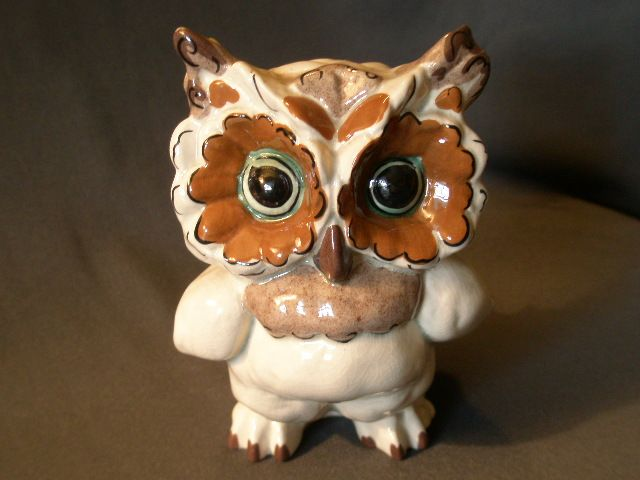 Kay Finch Ceramics Quot Ma Ma Tootie Quot Owl Figurine From