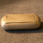 J. M. Carlstedt &quot;Pewter Snuff Box&quot; - Rockford, Illinois