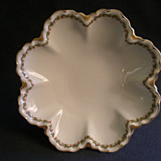 Haviland & Co. Limoges &quot;Clover Leaf&quot; Round Salad Serving Bowl, Schleiger #98