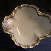 Haviland & Co. Limoges &quot;Clover Leaf&quot; Relish Dish, Schleiger #98