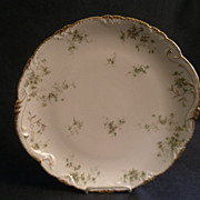 Theodore Haviland Floral Motif Round Chop Plate, Schleiger #150-24, Blank 130