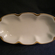 Charles Haviland & Co. Limoges &quot;Silver Anniversary&quot; Celery Tray - Schleiger #19