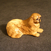 Mortens Studio Miniature &quot;Pekingese&quot; Dog Figurine