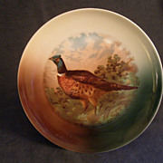 Z.S. & Co. Bavaria &quot;Cock Pheasant&quot; Game Plate