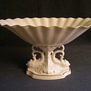 Lenox &quot;Aquarius Collection&quot; Centerpiece Compote w/Pedestal Dolphin Base
