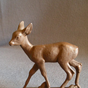 Meissen Bottgersteinzeug &quot;Roe Deer&quot; Figurine - A1253