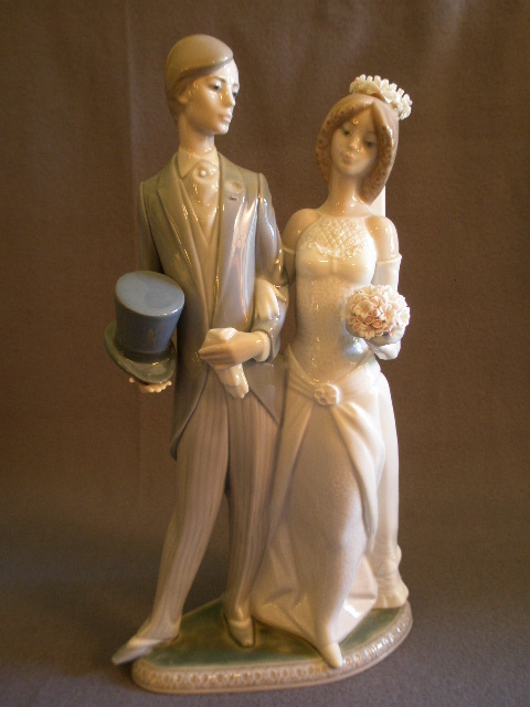 Lladro Wedding Porcelain Sculpture 1404 From Brysantiques On Rub