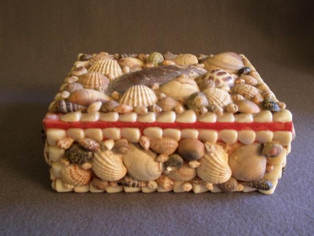 Seashell Jewelry Box Craft Mermaid jewelry box beach trinket