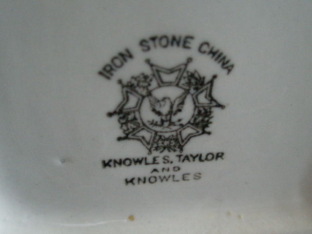 Antique Pottery Knowles Taylor And Marks Www Picsbud Com