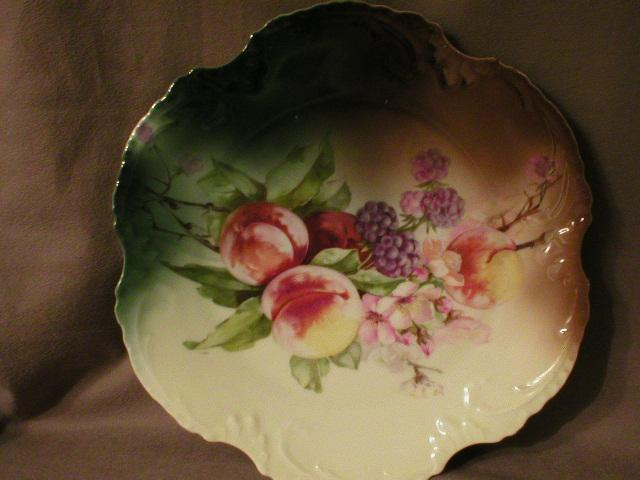 "Bavaria ""Marseille"" China Fruit Decor Plate"
