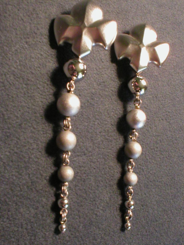 &quot;Stephen Dweck&quot; Sterling Earrings from Moderne Collection