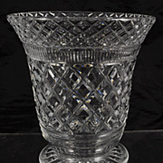 Antique Richardson Flared Cut Crystal Vase