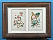 Victorian Embossed Framed Christmas Cards