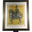 """Knight"" Original Color Lithograph by Marjorie Tomchuk"