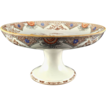 Aesthetic Japonesque Staffordshire Compote Tazza 1880s