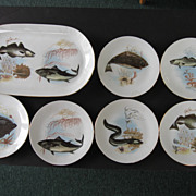 Kahla 7 piece  Fish Set