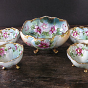 SALE Beautiful Nippon Berry Bowl Set