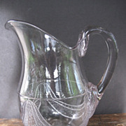 SALE 1881 EAPG Garfield Drape Pitcher