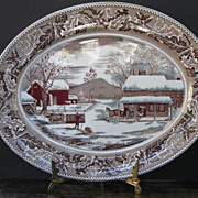 Johnson Bros. Large Serving Platter