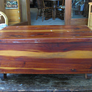 Salesman's Sample Cedar Chest