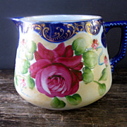 Hand Painted Nippon Cider Pitcher