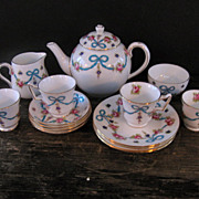 SOLD Darling Crown Staffordshire Child's Tea Set