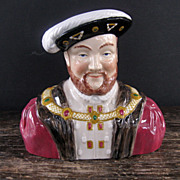 Late Century Wood & Sons. England Henry VIII Toby Mug