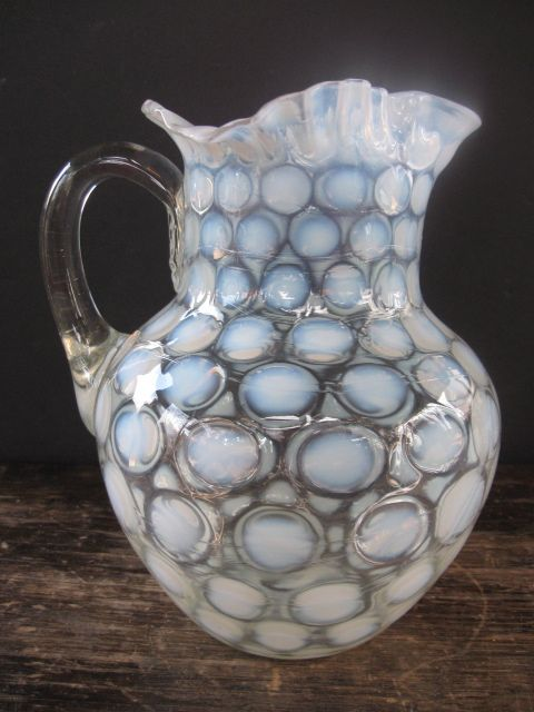 Pre 1960 Fenton Coin Dot Pitcher
