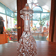 "Waterford ""Colleen"" Cut Crystal Decanter"