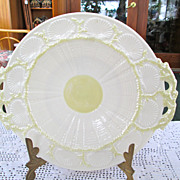 Belleek Shell Pattern Plate