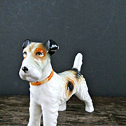 Cute Terrier Dog Figurine
