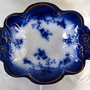 Flow Blue Serving Bowl