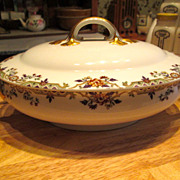 Limoges France Covered Serving Dish