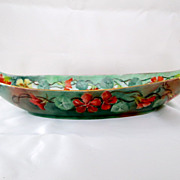 Amazing TV Limoges Eagle Adorn Celery Dish