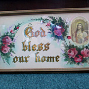 God Bless Our Home Print