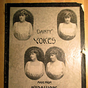 Pamphlet - Dainty Yokes made from Medallions