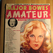 Magazine - Major Bowes' Amateur Magazine