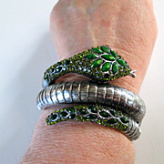 Fantastic  Snake Clamper Bracelet