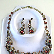 Strikingly Beautiful  Necklace and Earring Set
