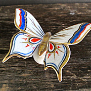 German Butterfly Figurine