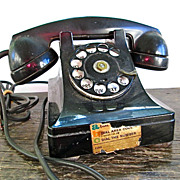 Bell Systems Western Electric Model 302 Telephone
