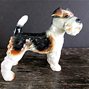 Goebel 4 1/4 in. German Airedale Dog Figurine