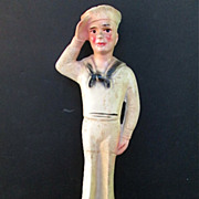 1940-50s Chalk-ware Sailor