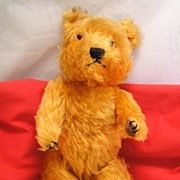 Chiltern Hugmee Golden Mohair Teddy Bear C 1950